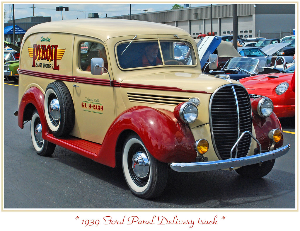 1939 Ford Panel Truck   The first annual Jackson Road Cruise ...