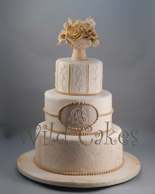 Ivory Weddings Beautiful Cake: Heavily Inspired By A Cake