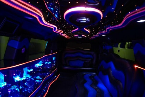 Hummer H3 Limousine Interior | Fizzy_Royal | Flickr