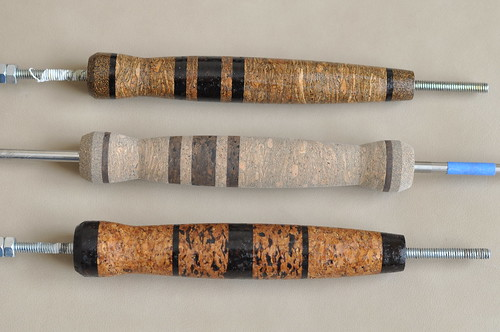 Burl cork fly rod handles flickr photo sharing for Cork fishing rod handles