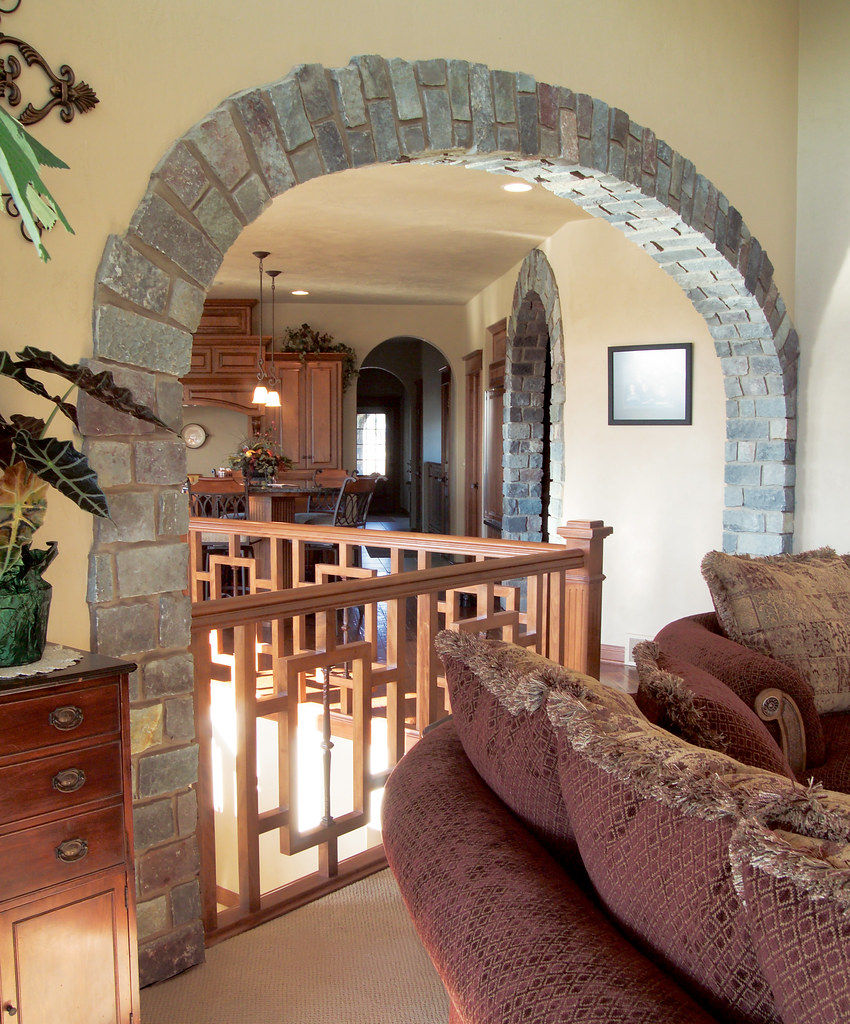 English Tudor This Interior Archway Uses Buechel Stone 39 S