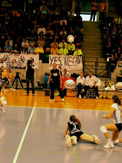 Finale coupe de france de volley ball f minin 2009 cannes mulhouse flickr photo sharing - Coupe de france de volley ...