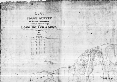 Long Island Sound : North Shore... from Mumfords Cove to Black Point,  Conn. / by George S. Blake. | by uconnlibrariesmagic