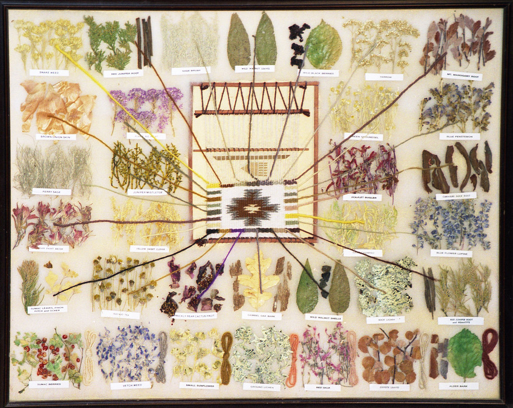 Navajo Natural Dyes Brian Snelson Flickr
