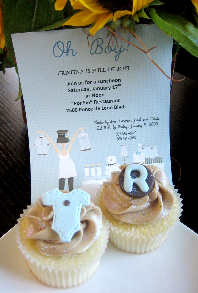 ... Baby Shower | Cafe Mocha cupcakes by Cupcakes Nou… | Flickr