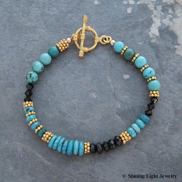 abstract turquoise bracelet this one of a kind bracelet. Black Bedroom Furniture Sets. Home Design Ideas