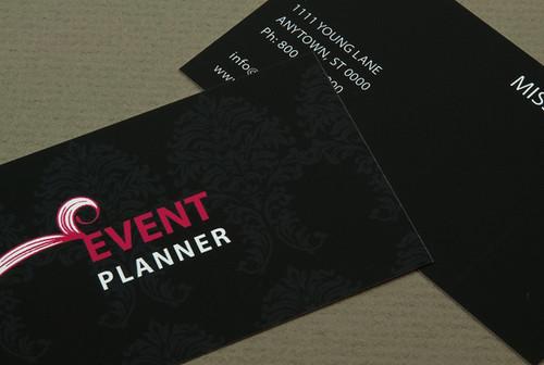 Event Planner Business Card De…