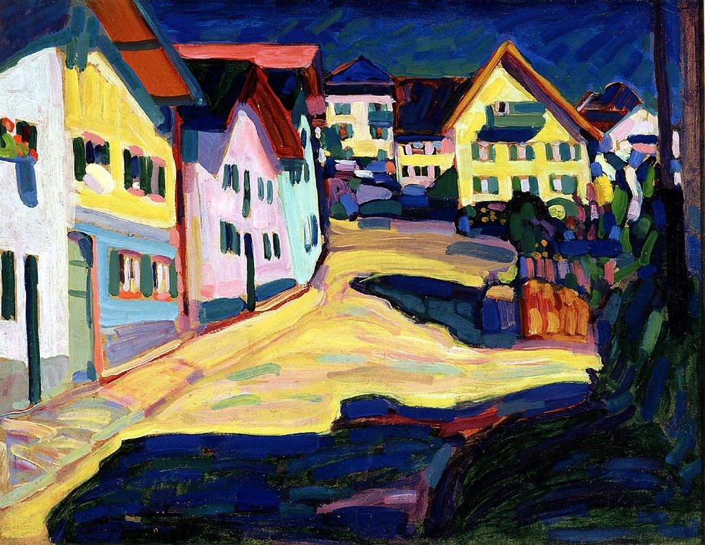 Livinghome Wassily Kandinsky Houses In Murnau 1908 Flickr