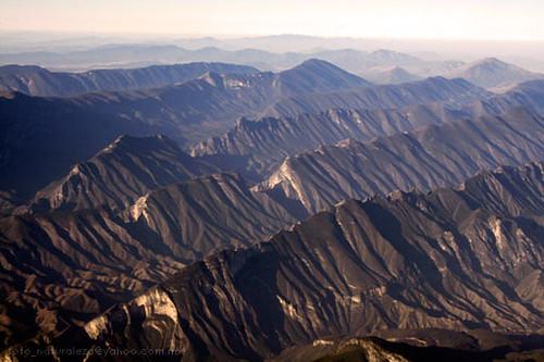 Sierra Madre Sierra Madre Oriental Aerial