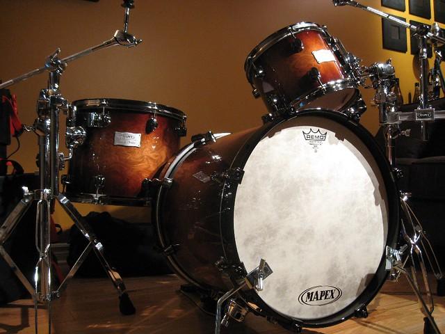 Mapex Orion 4 Piece Jazz Style Drum Set Batterie New