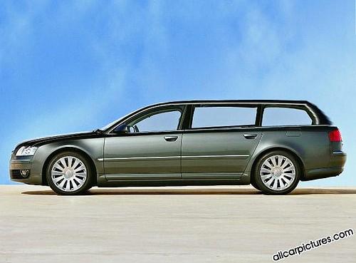 2005 Audi A8 Avant Concept Car Ovanbilsen Flickr