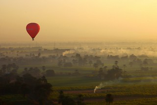 Hot air ballooning over the Valley of the Kings | by ... Arjun
