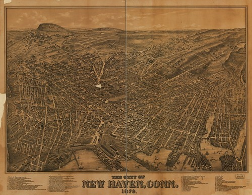 View of New Haven, Conn. 1879. | by uconnlibrariesmagic