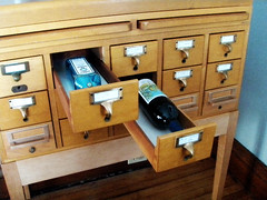 card catalog minibar | by The Sugar Monster