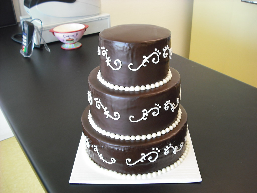 chocolate ganache wedding cakes pictures chocolate ganache wedding cake custom cakes require 14 12717