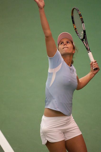 Varvara Lepchenko USA USTA Pro Tennis 2009 MidlandVarvara Lepchenko