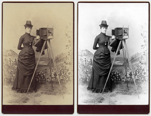 Restore of Woman with camera | by Herbert West