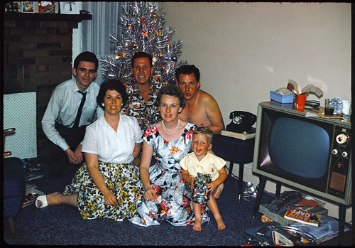 1960s Aluminum Christmas Tree