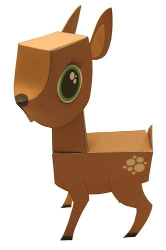Deer Get The Hi Res Template Here Macula Tv Papercraft