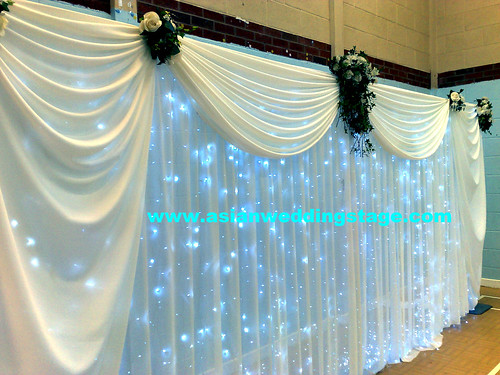 Wedding mehndi walima stage backdrops flickr photo for Backdrops for stage decoration