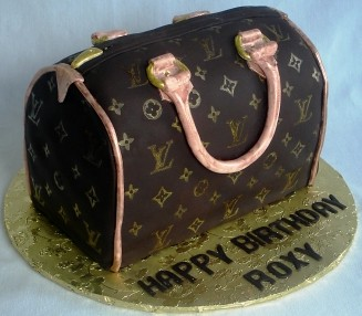 Louis Vuitton Purse Birthday Cake Custom Cake By Www