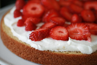 Food Librarian - Barefoot Contessa Strawberry Country Cake | by Food Librarian
