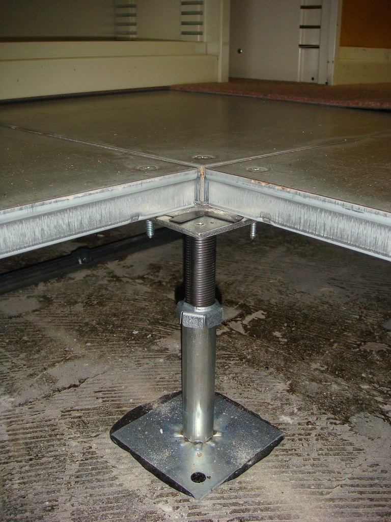Asbestos Mastic Platform Floor Support Bracket Example