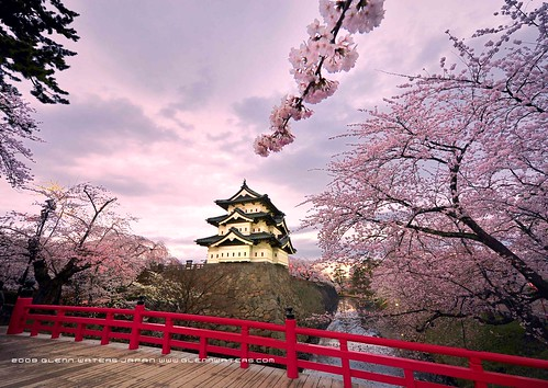 Hirosaki Castle. Wow! © Glenn Waters. Japan. (Explored) Over 20,000 visits to this image. Thank you. | by Glenn Waters ぐれんin Japan.