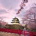 Hirosaki Castle. Wow! © Glenn Waters. Japan. (Explored) Over 19,000 visits to this image. Thank you.