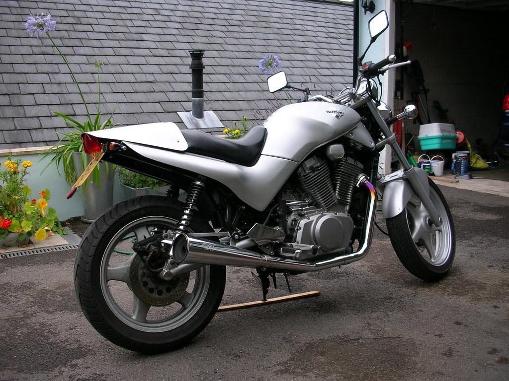 Suzuki Vx800 Cafe Racer My Old Suzuki Vx800 I Bought It