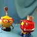 robot sculptures * VIC AND MITZY