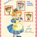 Goldilocks Birthday Card