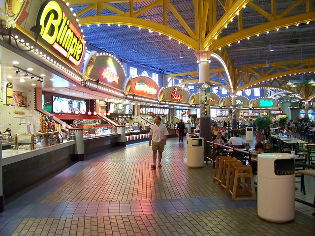 Food Court At Monmouth Mall Eatontown Nj Aug 09 Flickr Photo Sharing