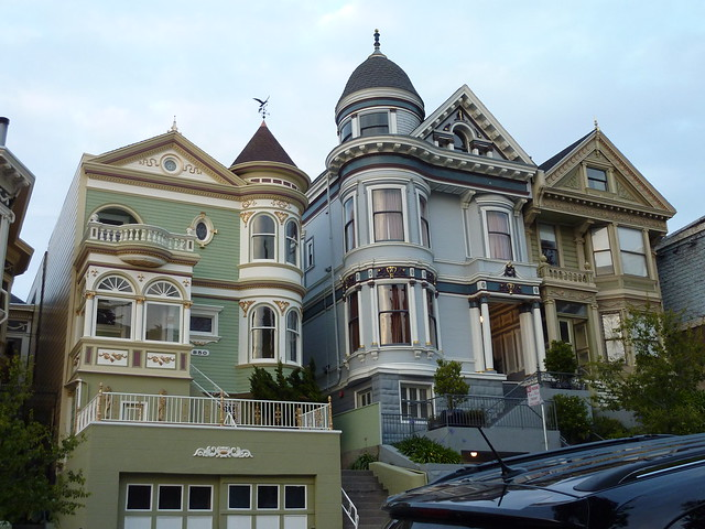 Painted ladies victorian homes san francisco ca for Houses in san francisco