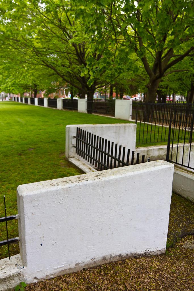 Zig zag wall fence ted kaiser