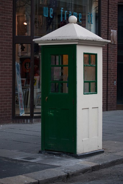 Nice Phone Kiosk On Dawson Street - I have been advised that this is a K1 or a close copy of a K1