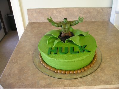 Hulk Cake For Our Friend Tyler S 6th Birthday Nicole M