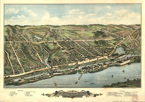 View of Windsor Locks, Conn. 1877 | by uconnlibrariesmagic