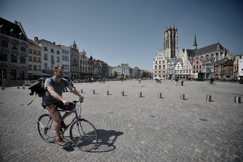grote markt by bike the weather 39 s been simply great here flickr. Black Bedroom Furniture Sets. Home Design Ideas