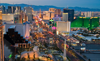 The Las Vegas Strip at dusk | by Nevada Tourism Media Relations