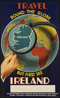 Travel round the globe but first see Ireland | by Boston Public Library