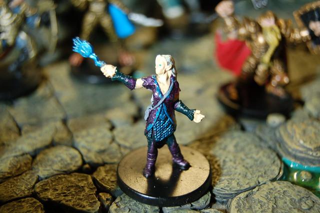 althaea eladrin wizard miniature used in the worldwide