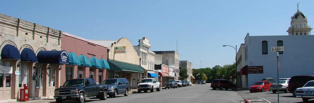 Downtown Belton Tx Seth Gaines Flickr