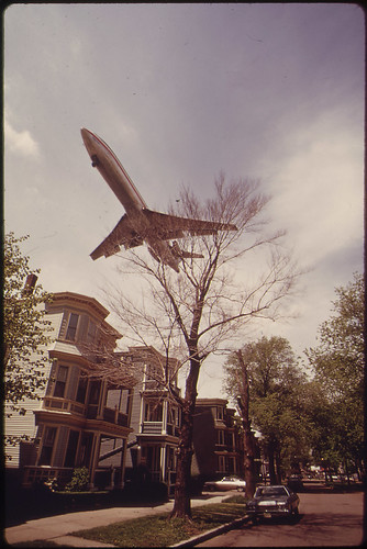Jet Zooms Over Southwestern Side of Neptune Road | by The U.S. National Archives