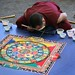 Tibetan Monks Medicine Mandala at UConn Health Center