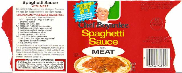 Boyardee Spaghetti