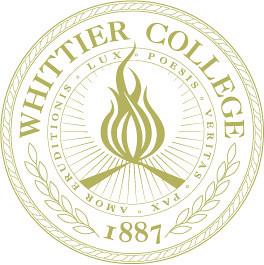 Whittier College Seal Located In Whittier California