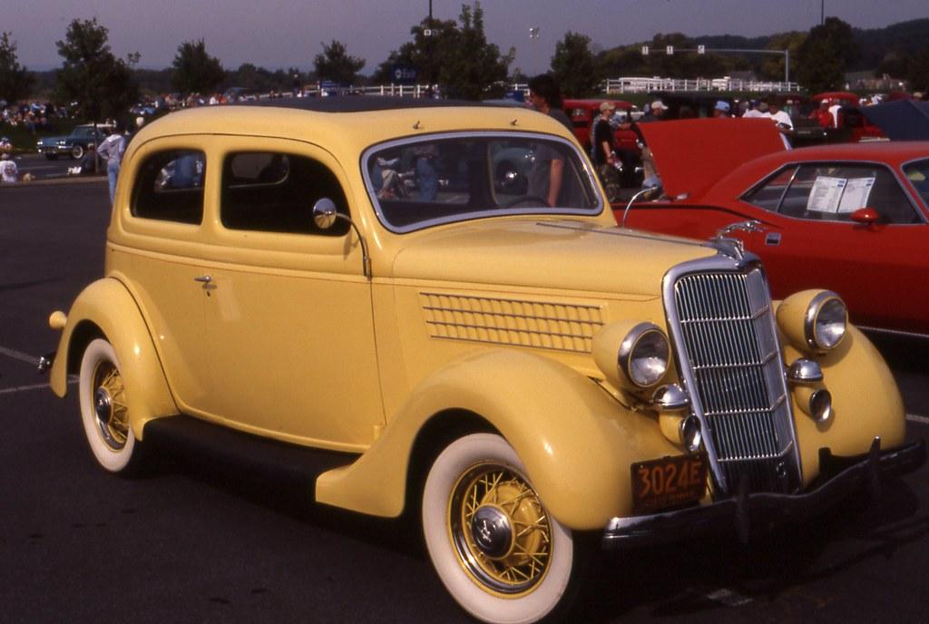1935 ford deluxe 2 door coach richard spiegelman flickr for 1935 ford 4 door