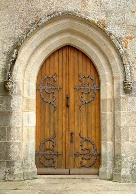 Manoir de kerlut porte porte d 39 entr e du manoir de for Porte in english