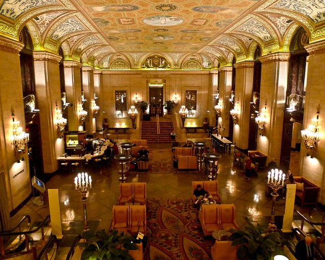 Palmer House Lobby The Lobby At The Palmer House Hotel